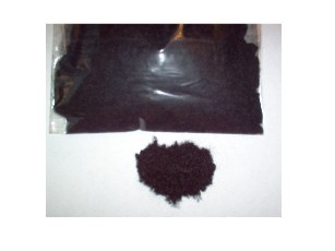 Black Nylon Flocking Fibers